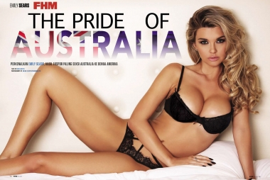 Emily Sears FHM Indonesia-1